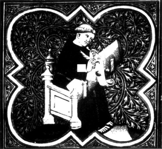 Eckehart - Holzschnitt